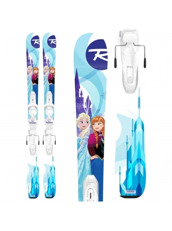 Гірські лижі Rossignol DISNEY FROZEN + Kid-X 4.5