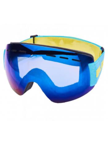Горнолыжная маска Blizzard MF01 DAVZS frameless, smoke blue mirror