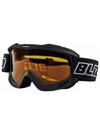 Лыжная маска Blizzard 911 DAV black matt-amber