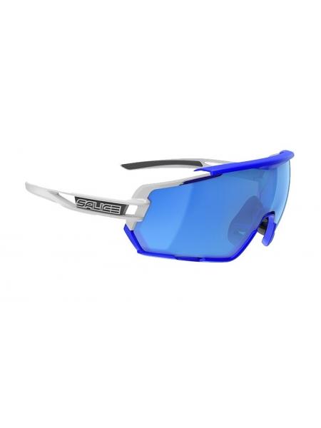 Окуляри Salice 020 RW WHITE BLUE mirror hydro blue