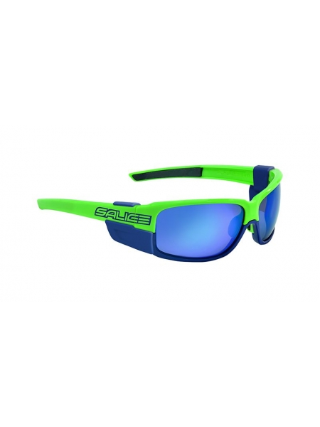 Окуляри Salice 015 RWP GREEN polarized mirror hydro blue