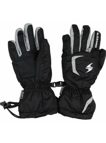 Гірськолижні рукавиці Blizzard Reflex junior ski gloves,black-silver