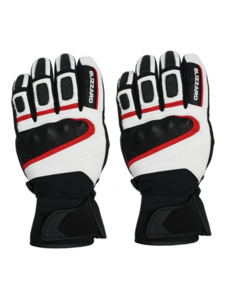 Горнолыжные перчатки Blizzard Competition ski gloves black/white/red