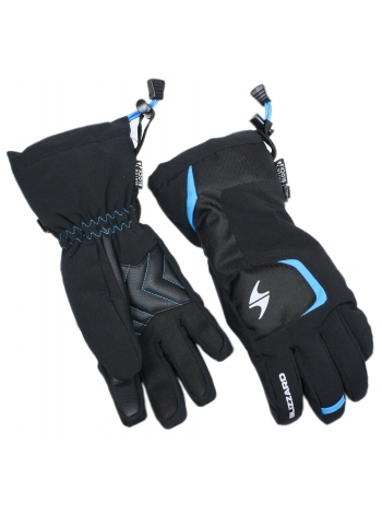 Гірськолижні рукавиці Zanier Blizzard Reflex junior ski gloves,black-blue