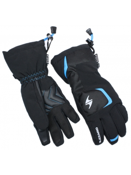 Гірськолижні рукавиці  Zanier Blizzard Reflex junior ski gloves,black-blue