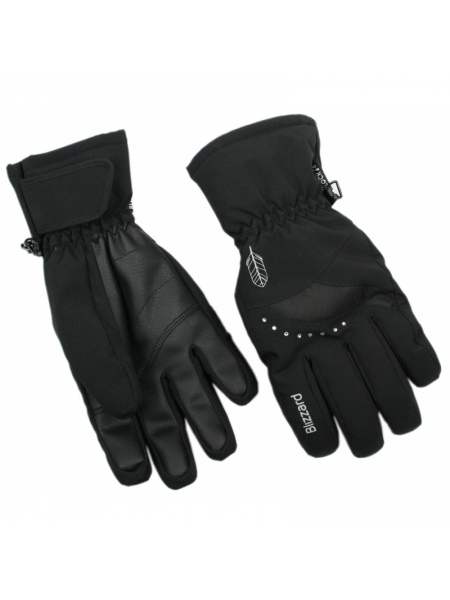 Гірськолижні рукавиці  Blizzard Viva Davos ski gloves,black-white-silver