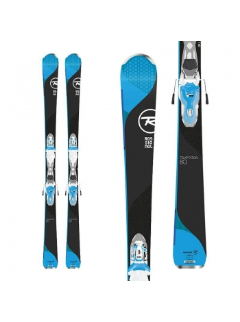 Горные лыжи Rossignol Temptation 80 blue X+XPRESS W 11 white blue