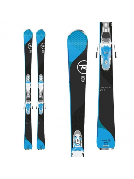 Rossignol Temptation 80 blue X+XPRESS W 11 white blue