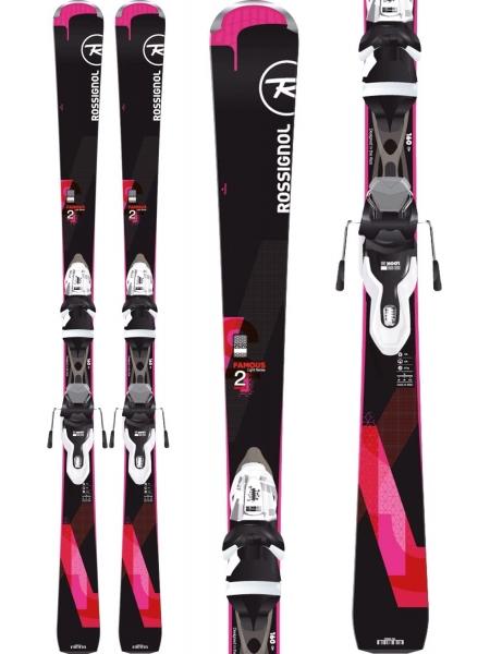 Гірські лижі Rossignol FAMOUS 2 + saphir 100