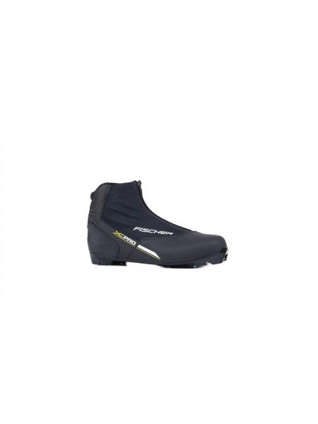 Беговые ботинки FISCHER XC PRO BLACK-YELLOW