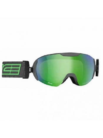 Лижні окуляри Salice 604 CHARCOAL GREEN RW CLEAR