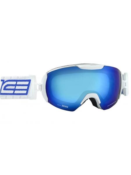 Маска гірськолижна Salice 604 DARWF  WHITE-BLUE