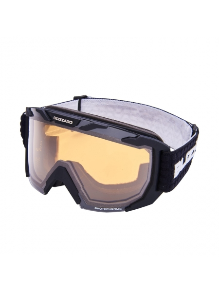 Лижні окуляри Blizzard 925 MDAZFO black matt amber 2-3 silver mirror, photo