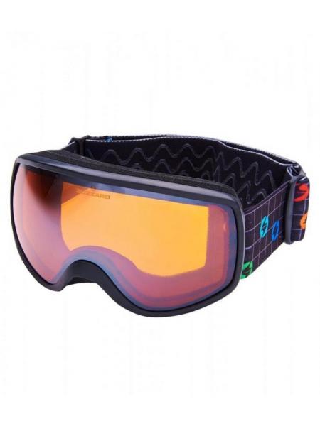 Гірськолижна маска Blizzard 963 DAO black amber 1 silver mirror