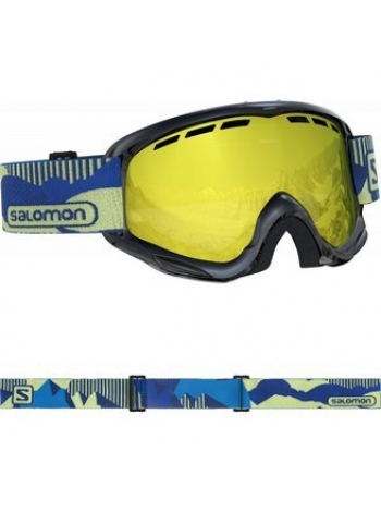 Горнолыжная маска Salomon JUKE blackpop-univ mid yello