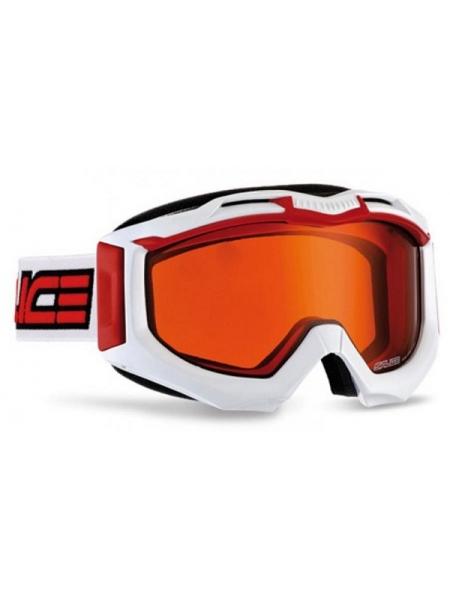Лижні окуляри Salice 602 white red-orange
