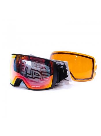 Лижні окуляри Salice 605 BLACK-BLOCK RW CLEAR+SONAR