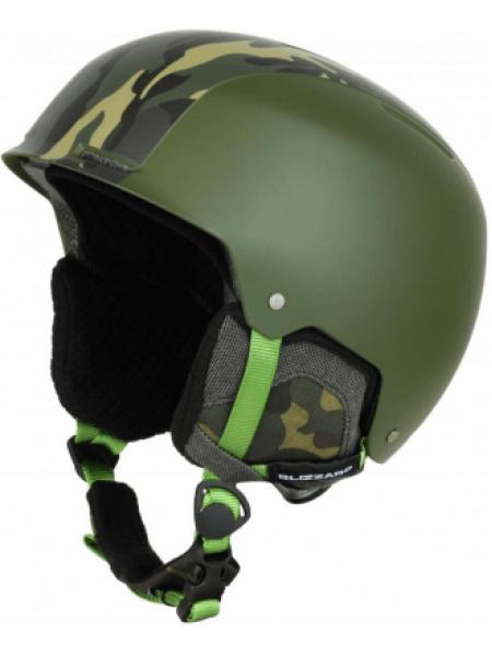 Шлем Blizzard GUIDE SKI dark green matt-camouf matt