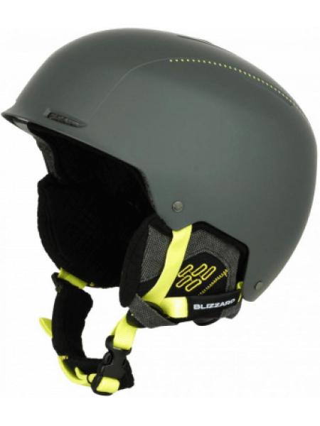 Шлем Blizzard GUIDE SKI grey matt-neon yellow matt