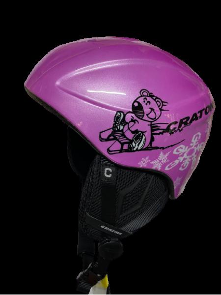Шолом Cratoni TALISMAN icebear pink