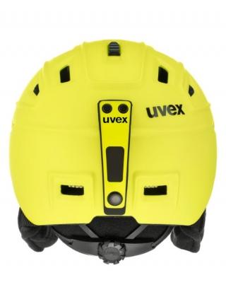 Шлeм Uvex FIERCE yellow mat