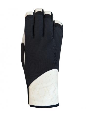Горнолыжные перчатки Roeckl Canaan black/white
