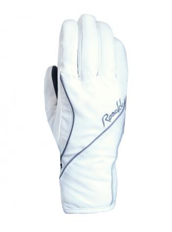 Гірськолижні рукавиці Roeckl Cosina white