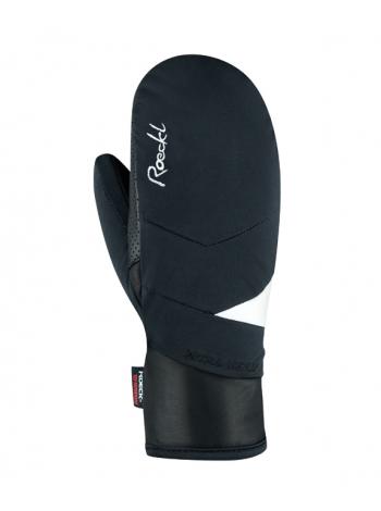 Гірськолижні рукавиці Roeckl Cariboo Mitten black/white