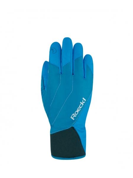 Горнолыжные перчатки Roeckl Alaska GTX adriatic blue