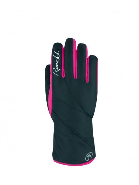 Горнолыжные перчатки Roeckl Atlas GTX black/pink