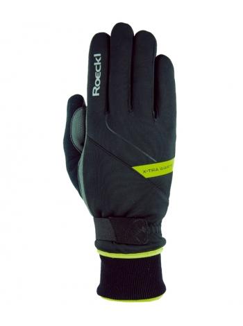 Гірськолижні рукавиці Roeckl Turin black/yellow