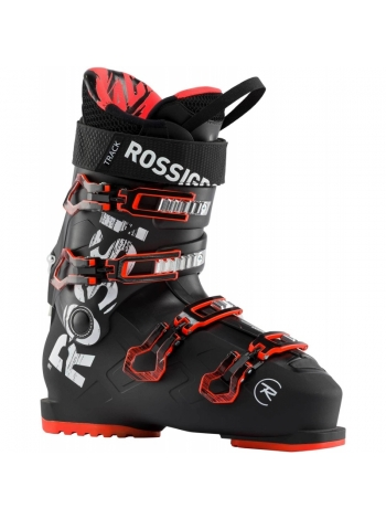 Ботинки горнолыжные Rossignol TRACK 80 black red