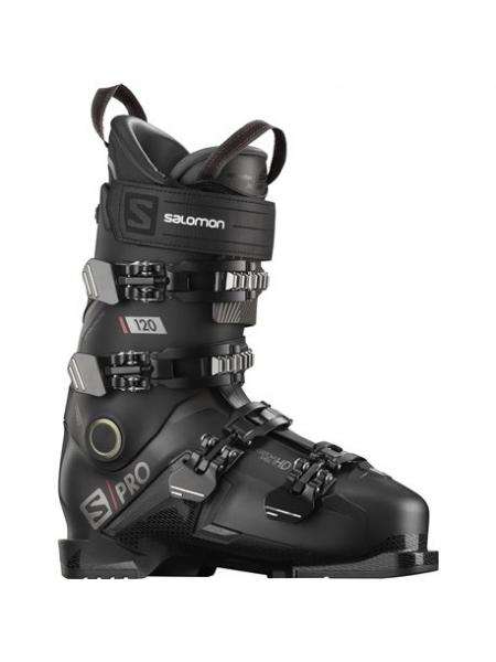 Ботинки горнолыжные Salomon S PRO 120 black-belluga-red