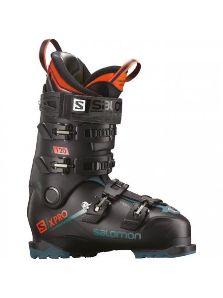 Ботинки горнолыжные Salomon X PRO 120 Black/Blue/Orange