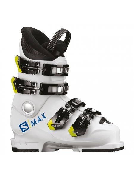 Ботинки горнолыжные Salomon X Max 60T L wh-race blue-acid gree