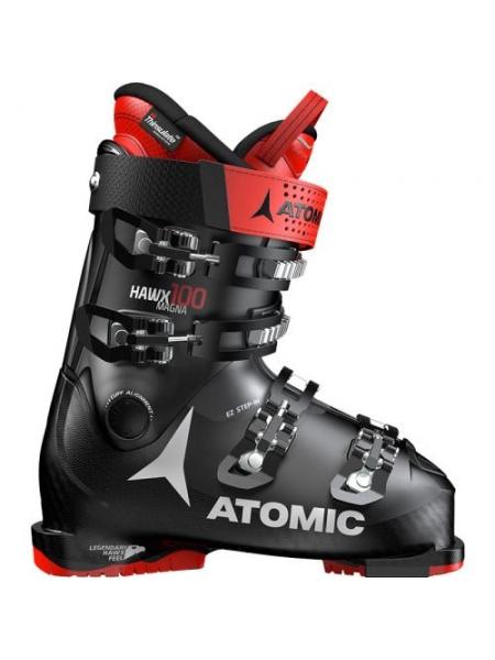 Ботинки горнолыжные Atomic HAWX MAGNA 100 Black/Red