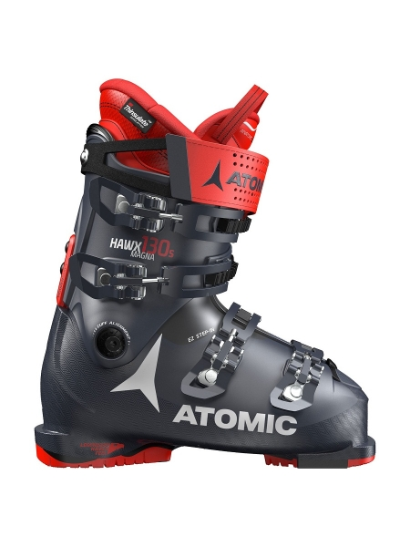 Ботинки горнолыжные Atomic HAWX MAGNA 130 S dark blue-red