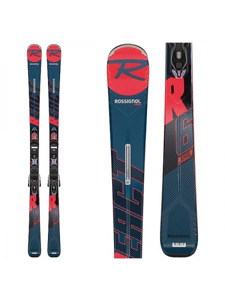 Горные лыжи Rossignol REACT R6 COMPACT+XP11 GW