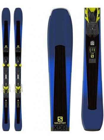 Гірські лижі Salomon M XDR 80TI+M XT12