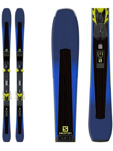 Горные лыжи Salomon M XDR 80TI+M XT12