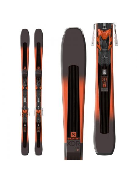 Горные лыжи Salomon M XDR 79CF+M XT10