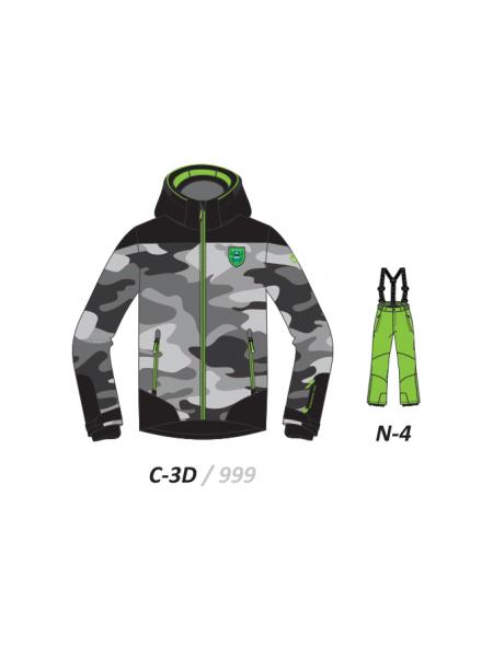 Костюм гірськолижний дитячий BITING Brook-set C-3D+N-4