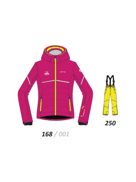 Костюм горнолыжный детский BITING FANNY-SET 168+250