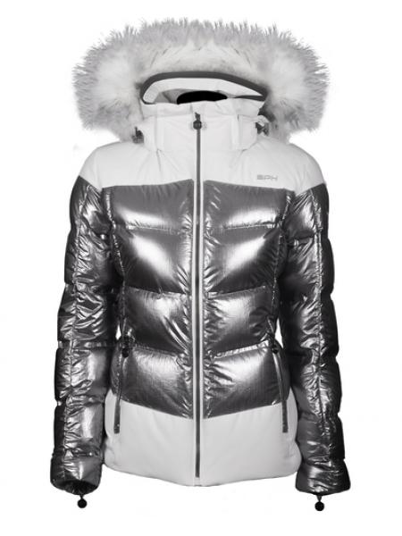 Гiрськолижна куртка SPH Yasemin silver