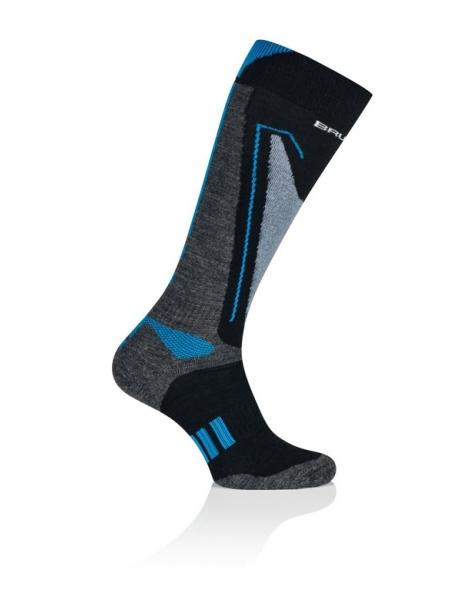 Шкарпетки Brubeck SNOW FORCE LIGHT grey-blue