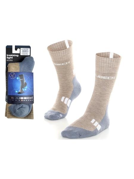 Шкарпетки Brubeck TREKING LIGHT W brown-grey