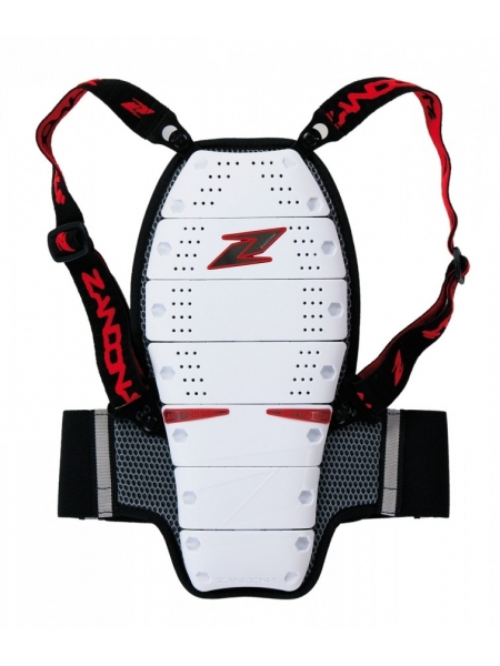 Защита спины дет. Zandona X8 white-red