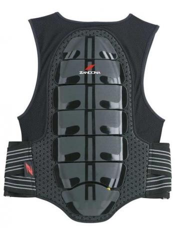 Захист спини з жилетом Zandona X8 black-red