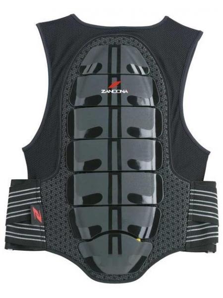 Защита спины с жилетом Zandona X7 black-red