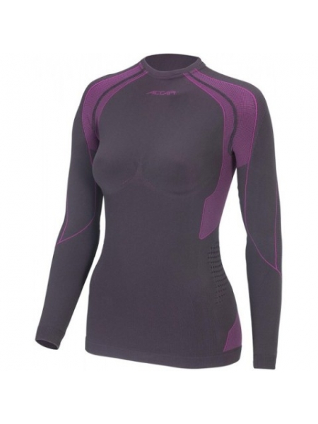 Термобілизна блуза жіноча Accapi Polar Bear black/cyclamen